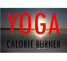 YOGA Photographic Print