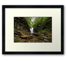 Big Falls Framed Print