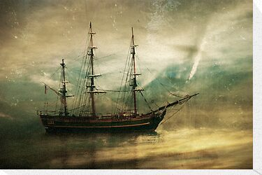 HMS Bounty by Barbara Ingersoll
