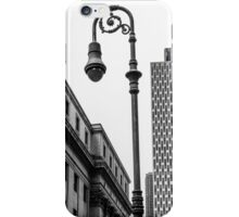 Looking for light in the city iPhone Case/Skin
