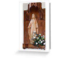 Salve Regina Greeting Card