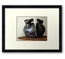 The open veins of Latin America Framed Print