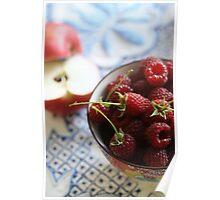Apples 'n' Raspberries Poster