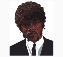 SAMUEL L. JACKSON PULP FICTION GRAPHIC TSHIRT by dgalanaugh