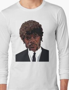 SAMUEL L. JACKSON PULP FICTION GRAPHIC TSHIRT Long Sleeve T-Shirt