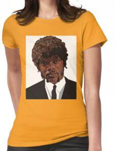 SAMUEL L. JACKSON PULP FICTION GRAPHIC TSHIRT Womens Fitted T-Shirt