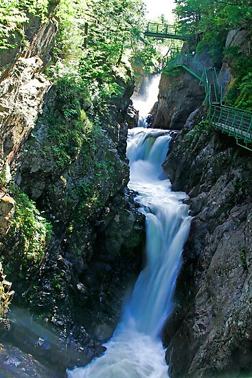 High Falls Gorge 2 by Deborah  Benoit