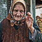 Sicevo old woman by Aleksandra Misic