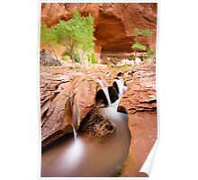 Coyote Gulch in Glen Canyon National Recreation Area Poster