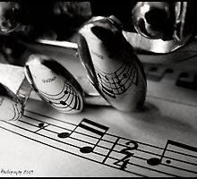 Music Leaves Footprints on Your Soul by Jennifer  Doyon