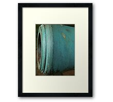 Cannon Metal Abstract Framed Print