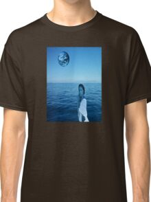 Woman in blue Classic T-Shirt