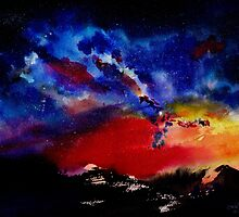 Starry night by IsabelSalvador