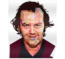 JACK NICHOLSON THE SHINING GRAPHIC ART TSHIRT Poster