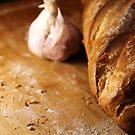 Garlic Bread in the making by Hege Nolan