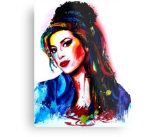 """""""My colors for Amy"""" Metal Print"""