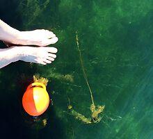 First Swim in Green Water by HeklaHekla