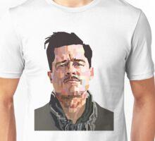 BRAD PITT ALDO RAINE INGLORIOUS BASTERDS GRAPHIC ART Unisex T-Shirt
