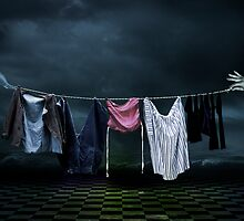 Washing Day by Ton de Vrind