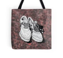 my old running shoes...  Tote Bag