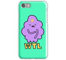 What The Lumps  iPhone Case/Skin