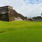 Mayan Pyramid at Comalcalco by Zane Paxton