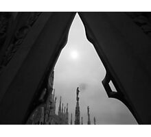 On the Top of the Duomo Photographic Print