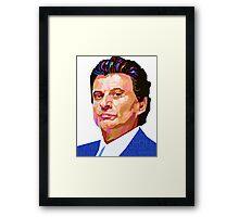 JOE PESCI GOODFELLAS GRAPHIC ART TSHIRT Framed Print