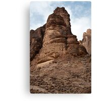 Landscape of Wadi Rum Canvas Print