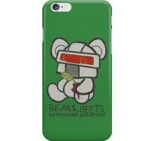 Bears Beets Battlestar Galactica iPhone Case/Skin
