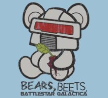 Bears Beets Battlestar Galactica One Piece - Short Sleeve