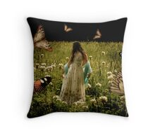 In the Clover Throw Pillow