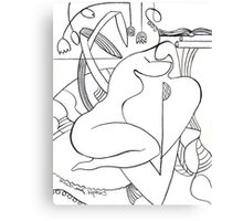 A Shoulder to Cry On no. 2 Canvas Print