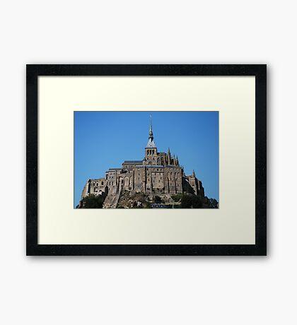Mont St-Michel  Framed Print