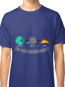 Earth, Wind & Fire Equation Classic T-Shirt