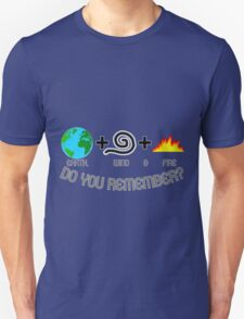 Earth, Wind & Fire Equation Unisex T-Shirt