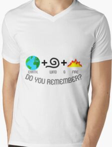 Earth, Wind & Fire Equation Mens V-Neck T-Shirt