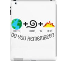 Earth, Wind & Fire Equation iPad Case/Skin