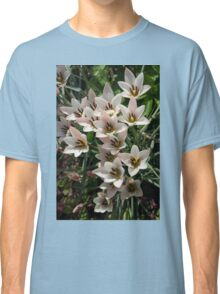 A Bouquet of Miniature Tulips Celebrating the Spring Season - Vertical Classic T-Shirt