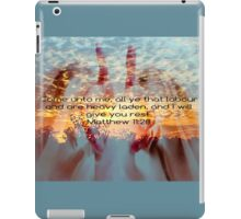 Come Unto Me iPad Case/Skin