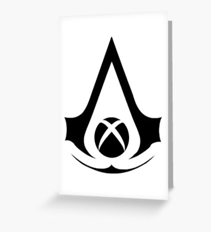 xbox assassins Greeting Card