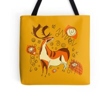 Cave Painting With Entoptics Tote Bag