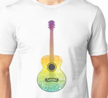 Polygonal Guitar Unisex T-Shirt