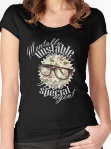 Mentally unstable dog lover & FBI's Special Agent Women's Fitted Scoop T-Shirt