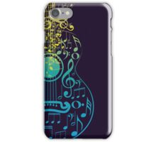 Guitar and Music Notes 2 iPhone Case/Skin