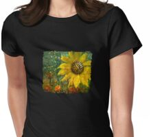 Flowers for Fun T-Shirt Womens Fitted T-Shirt