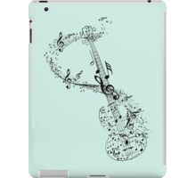 Guitar and Music Notes iPad Case/Skin