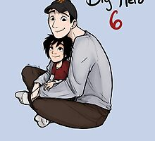 BH6 Tadashi and Hiro  by Hannah Golden