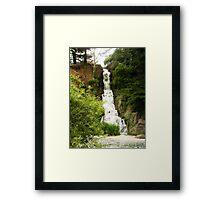 Rainbow Falls San Francisco Framed Print