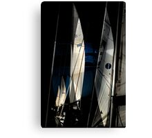 Sail Equation..  Canvas Print